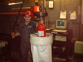 Monroe Extinguisher